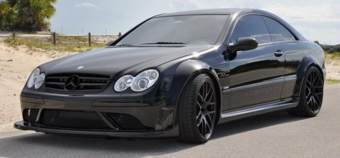 Mercedes CLK 63 Black Series от Renntech