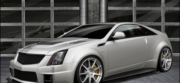 Cadillac CTS-V Coupe с 1000 конски сили