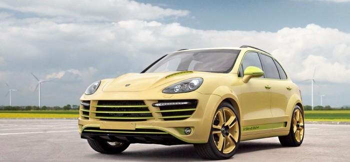 Porsche Cayenne Lemon от TopCar