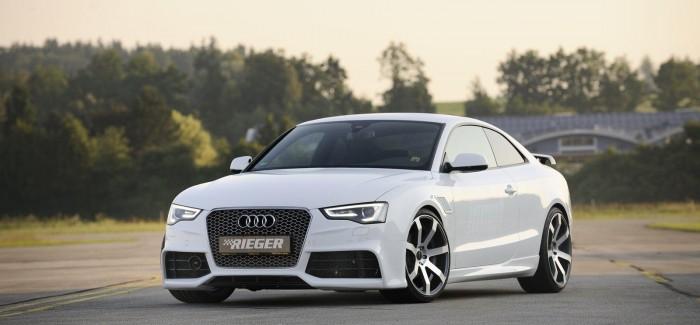 Audi A5  се превръща в RS5 след намесата на Rieger