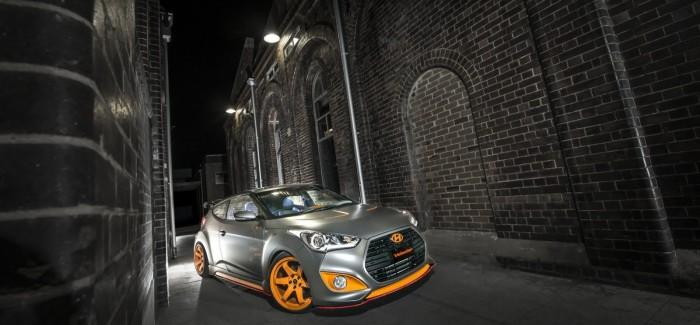 Hyundai  със зашеметяваща концепция върху Veloster