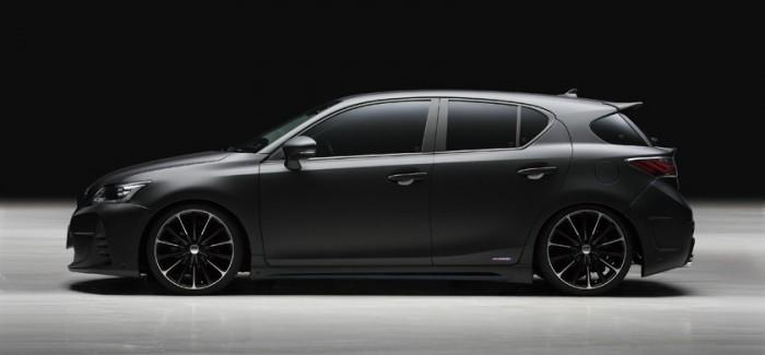 Lexus CT 200h  с нов облик след намесата на Wald International