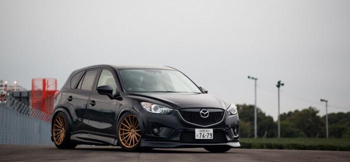 Mazda CX-5 допълнена от Vossen