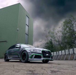 ABT произведе 1018к.с мощно Audi RS6-E Hybrid