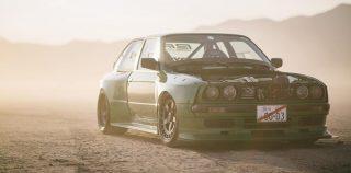 BMW E30 3-Series раздуто до неузнаваемост